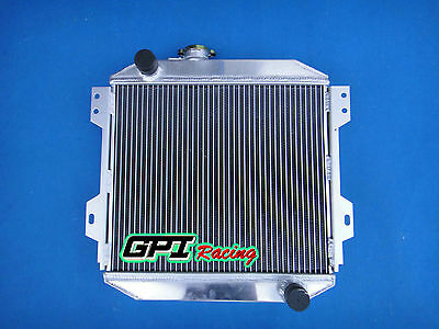 3 core aluminum radiator for CORVETTE C2 C3 5.3 5.4 5.7 6.5 7.0 7.4 V8 63-72 MT