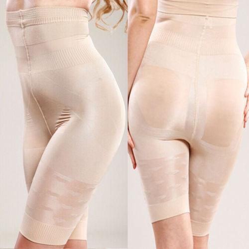 Women Full Body Shaper Underwear Shapewear Bodysuit Shorts Leggings Slimming US