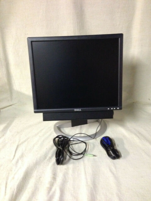 "Used Dell UltraSharp 2001FP 20/"" LCD Monitor No Power Adapter"