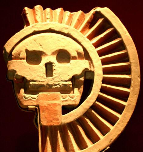 1997 MEXICO SILVER SKULL PROOF COIN  1//2 Troy Oz .999 DISCO DE LA MUERTE
