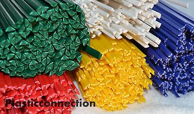 HDPE plastic welding rods mix yellow 30pcs