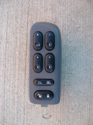 01-06 FORD ESCAPE DRIVER LEFT SIDE MASTER POWER WINDOW SWITCH 4L8T-14540-AAW