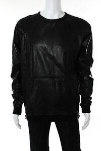 lederen nieuw En Noir 85278 shirt laser extra zwart 2 groot gesneden Mens maat uZPXiOk