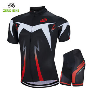Men s Reflective Casual Cycling Kit Bike Short Sleeve Jersey ... e6d6669a0