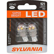 SYLVANIA Bright LED Bulb Map 6411 41mm ZEVO LED Festoon White Bulb Trunk Dome Contains 1 Bulb Cargo and License Plate Ideal for Interior Lighting