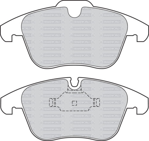OEM SPEC FRONT REAR DISCS AND PADS FOR JAGUAR XF 2.2 TD 163 BHP 2011