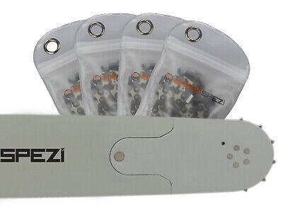 """2 Ketten passend für Dolmar 114 45 cm 3//8/"""" 64TG 1,5mm Sägekette chain Schwert"""