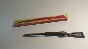 Vintage Novelty Italian Rifle Biro Pen Prix De Rue