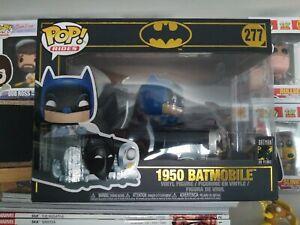 Vinyl Figure #277 POP Rides: Batman 80th Batmobile Funko POP 1950 Batman