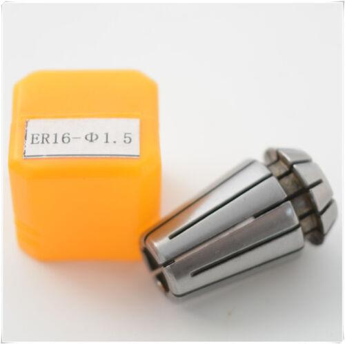 1.5MM ER16 COLLET CNC CHUCK SUPER PRECISION Engraving Machine Milling 1pcs