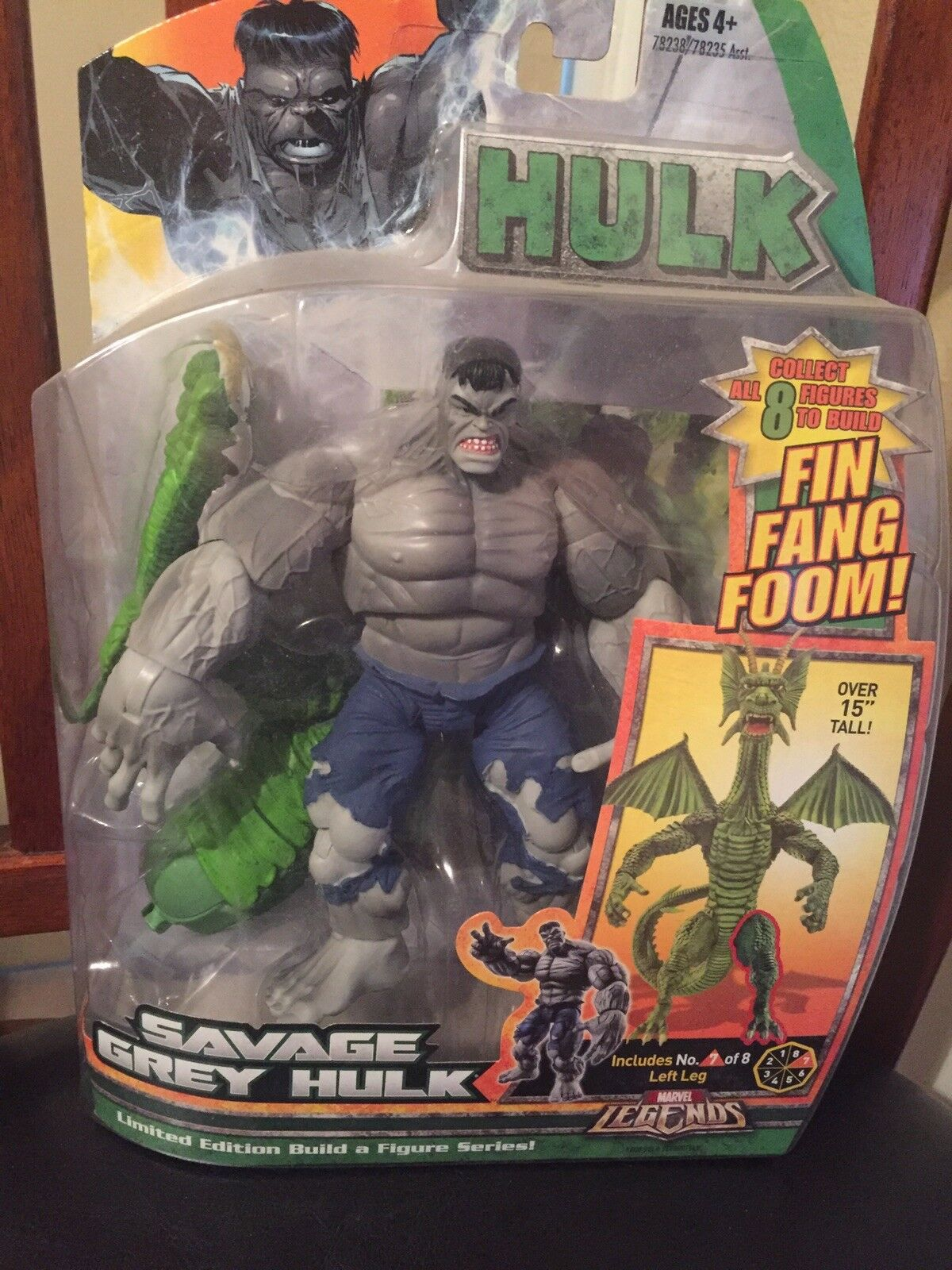 Marvel Legends RARE Savage gris Hulk-Fin Fang Foom collection   dans les promotions de stade