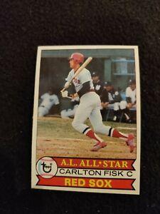 1979 Topps Carlton Fisk baseball card #680 Boston Red Sox NM/MT