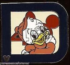 Disney Pin: WDW Hidden Mickey 2011 - Classic 'D' Part 2: Huey