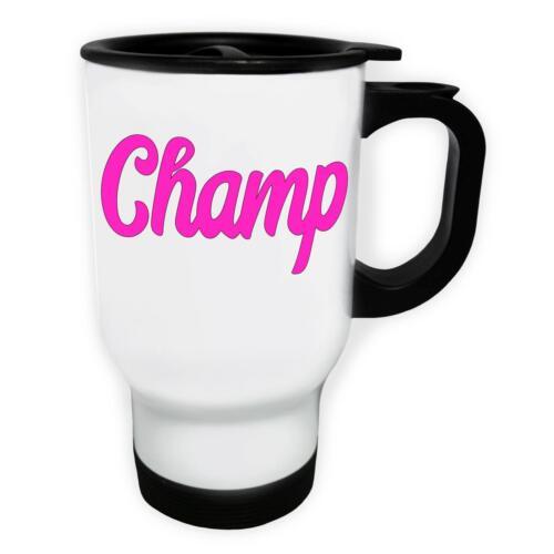 Champ White//Steel Travel 14oz Mug k257t