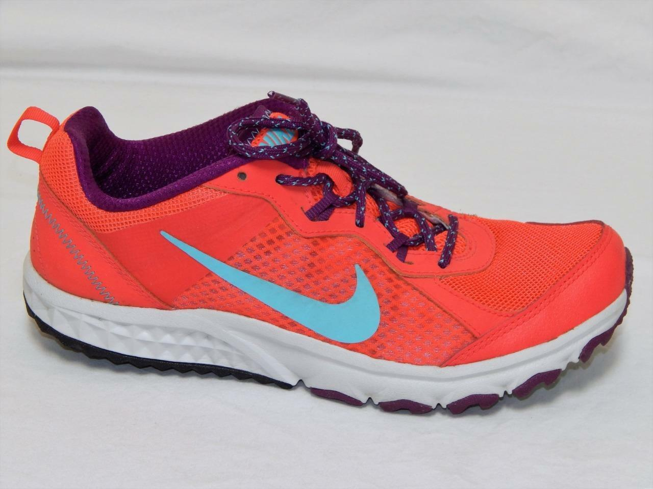 NIKE Women's Pink 643074-600 Wild Trail Athletic Running shoes Size 9.5