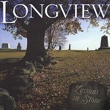 "LONGVIEW, CD ""LESSONS IN STONE"" NEW SEALED"