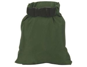 13L-DRY-SACK-WATERPROOF-Ultra-light-roll-top-bag-Olive-Tough-camping-trek-pouch