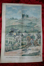 Scuola Militare d'Equitazione Tor di Quinto Roma 1899