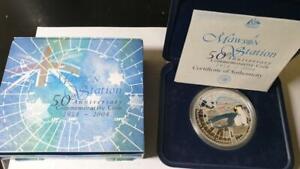 2004-AUSTRALIAN-ANTARCTIC-TERRITORY-1-MAWSON-STATION-1-OZ-SILVER-PROOF-COIN