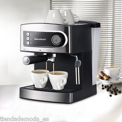 Excelvan 15 Bar Pump Coffee Maker Machine Espresso Cappuccino Latte Hot Drinks