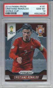 2014-Panini-Prizm-World-Cup-Cristiano-Ronaldo-161-PSA-10-Portugal