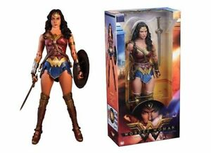 Gdot Justice League Gal Gadot As Wonder Woman Film Figurine 1/4 Échelle Neca