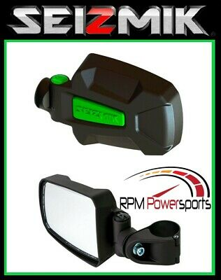 Seizmik Green Pursuit Elite Hd Side View Mirror Arctic Cat