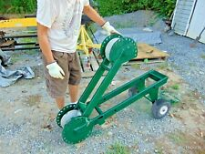 Condux Cable Wire Glider Tugger Puller Rack Works With Greenlee Roller Pullers