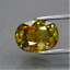 2-60ct-Oval-Natural-Yellowish-Green-Sphene-Madagascar-Diamond-Luster-certified thumbnail 1