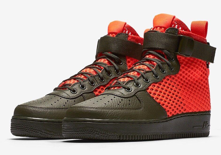 Nike SF AF1 Air Force 1 Mid QS   US 13   AA7345 300 Green orange