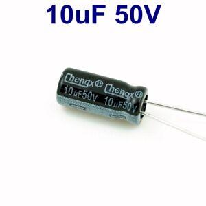25Pcs 10uF 16V Electrolytic Capacitors