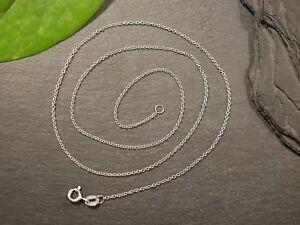 Tolle-925-Silber-Kette-Signiert-Armbrust-Ruf-Keltern-Erbsenkette-Zart-Filigran