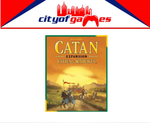 Settlers of Catan 5th Edition Cities /& Knights Expansion Brand New