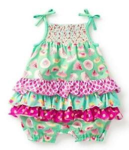 Matilda-Jane-FRUIT-SALAD-ROMPER-6-12-18-24-Months-Baby-Watermelon-New-In-Bag