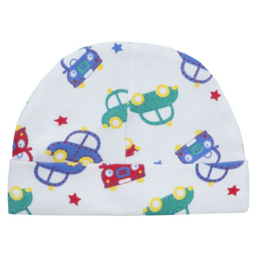 Babytown Baby Boys Car Design Sleepsuit /& Hat Set