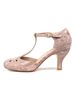 New-I-Love-Billy-Marie-Blush-Lace-Womens-Shoes-Dress-Shoes-Heeled