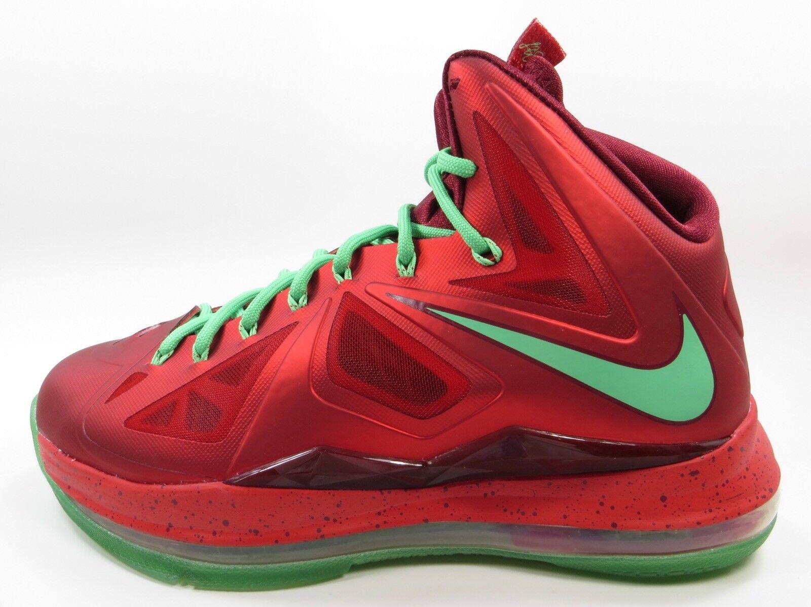 Nike Lebron X 10 Christmas SIZE 8