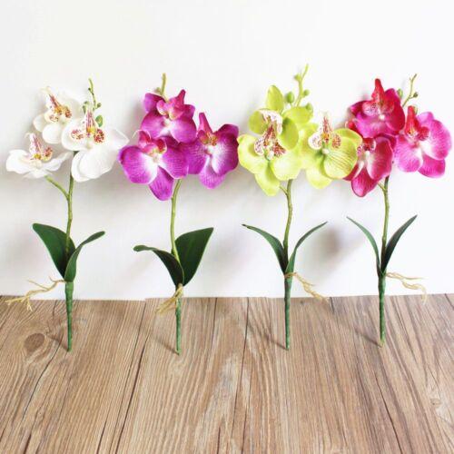 handwerk phalaenopsis dekor diy künstliche blumen waldhyazinthe hochzeit.