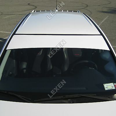 12x60 sun visor strip vinyl on front windshield graphics decal custom