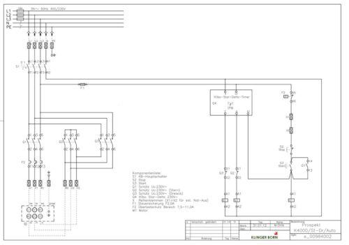 Hauptschalter,Elektromotor bis 7,5KW automatischer Stern-Dreieck-Starter 4002