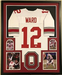 Image is loading FRAMED-DENZEL-WARD-AUTOGRAPHED-SIGNED-OHIO-STATE-BUCKEYES- d958101ca