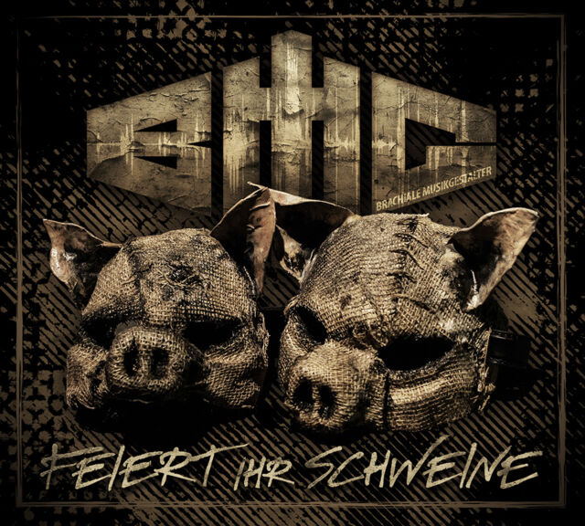 Techno CD Bmg Aka Brachiale Musikgestalter Feiert Ihr Schweine