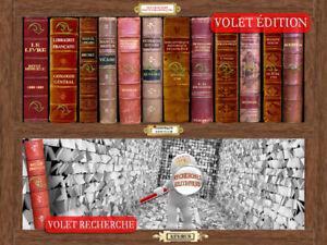 RECHERCHES BIBLIOGRAPHIQUES Édition pour la recherche l'étude et le travail.