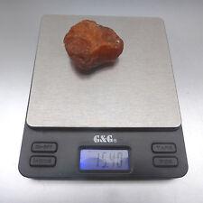 Grosser Roh- Bernstein, Butterscotch, 15,4 Gramm, ca. 4 x 4 x 2,4 cm, 琥珀, Amber