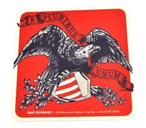 Budweiser-Beer-USA-Bier-Bierdeckel-Untersetzer-Coaster-Adler-E-pluribus-unum