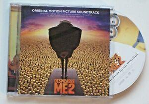 DESPICABLE ME 2 - 24-TRK CD SOUNDTRACK/SCORE - 2013 - HEITOR PEREIRA / PHARRELL