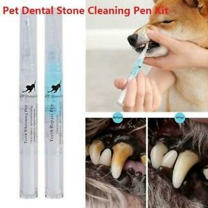 Pet Teeth Cleaning Repair Tubes Dog Cat Tartar Dental Stone Cleaning Pen HOT NEW