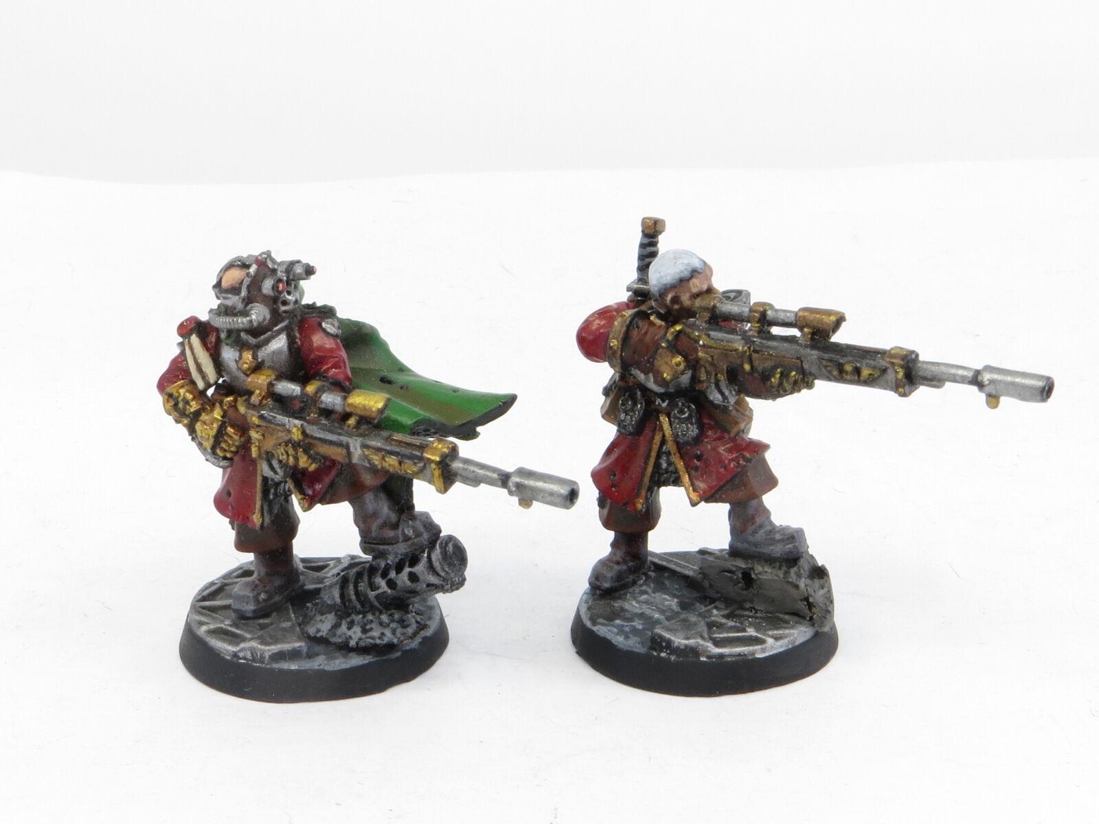 VOSTROYAN SNIPERS  Painted OOP Astra Militarum Imperial Guard Warhammer 40k Army
