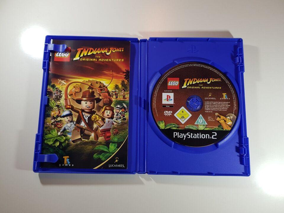 Lego Indiana Jones, PS2