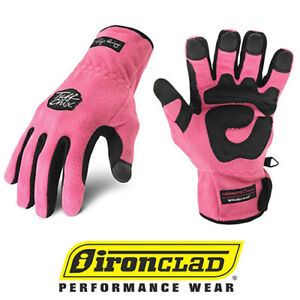 IronClad Tuff Chix SMTC Cold Weather Women s Work Gloves Pink ... 3c92c5ea3